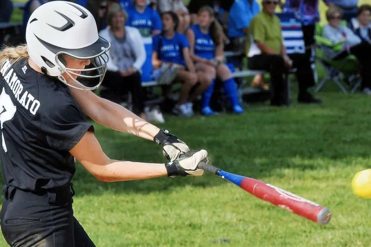 Bishop Eustace captain Brianne Innamorato is helping to set an example for a young team as it encounters bumps in the road.