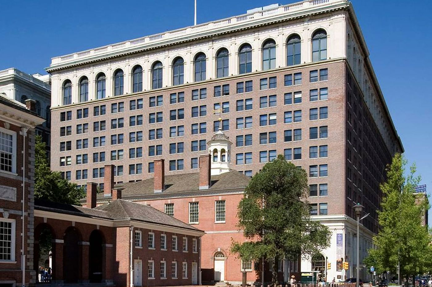 Portion of historic Public Ledger building to be revamped into upscale extended-stay hotel