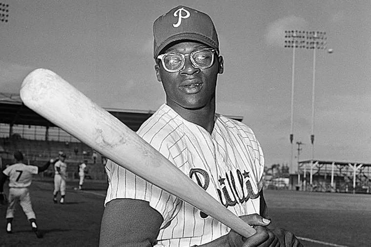 Dick Allen, as a young Phillie.