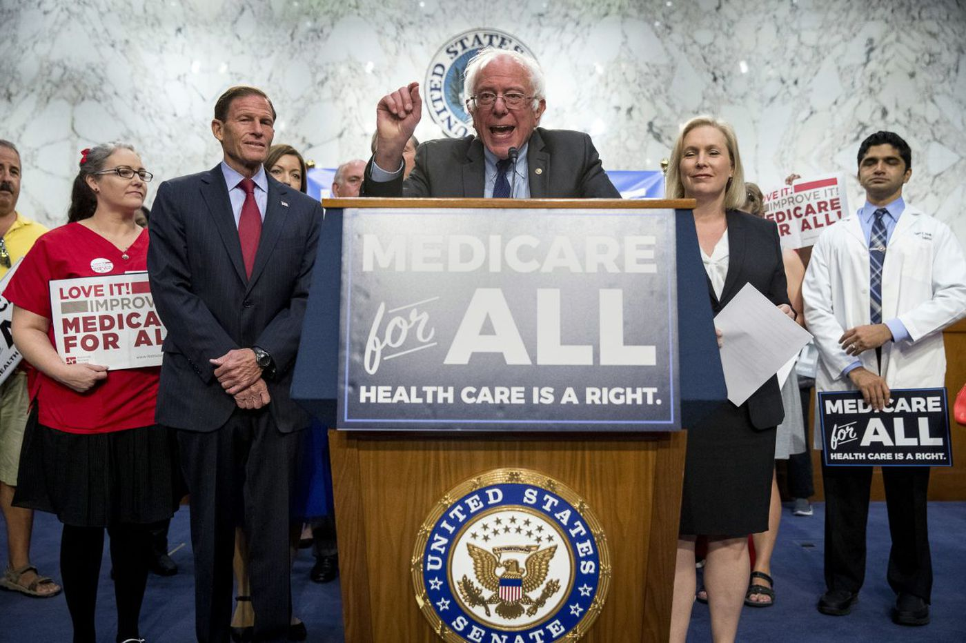 What Bernie didn't say about his 'Medicare for All' vision