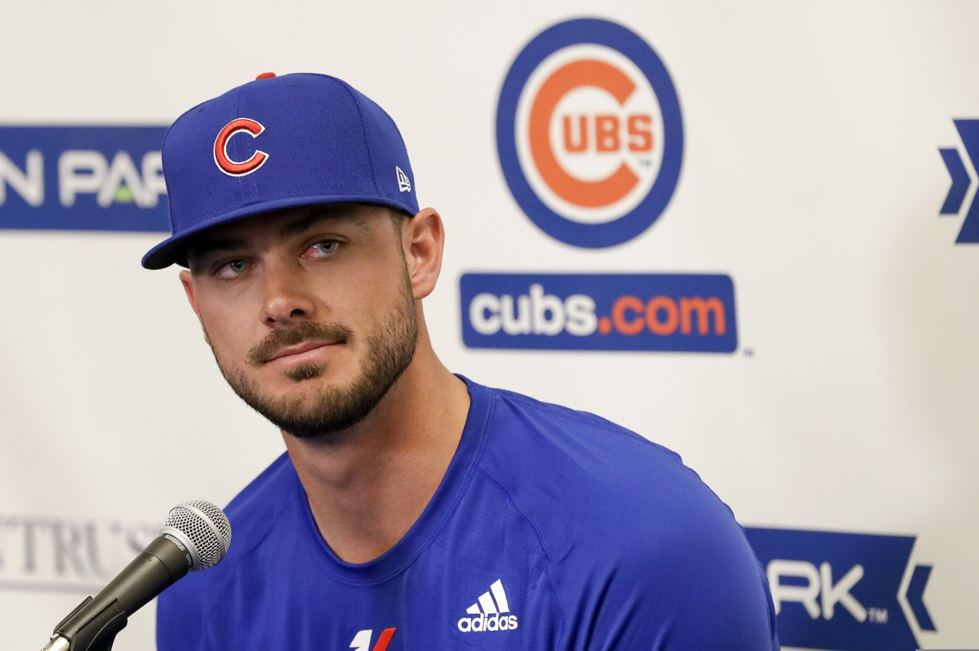 Bryce Harper was right: The Phillies can't trade for Kris Bryant. Or, at least, they shouldn't. | David Murphy