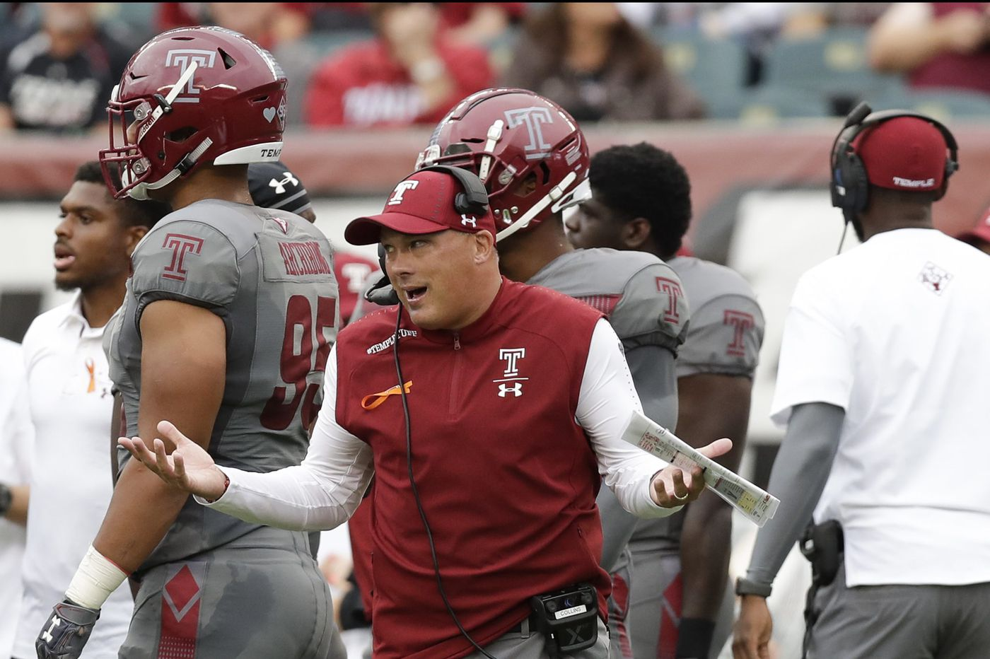 What's the message for Temple after an 0-2 start?   Mike Jensen
