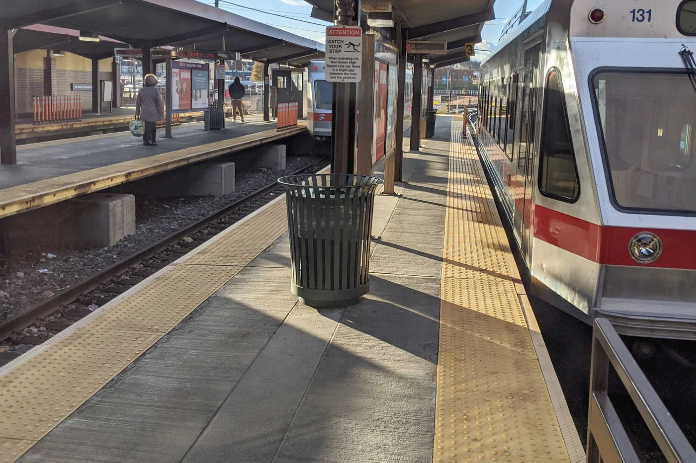 SEPTA Norristown High Speed Line delayed due to downed tree