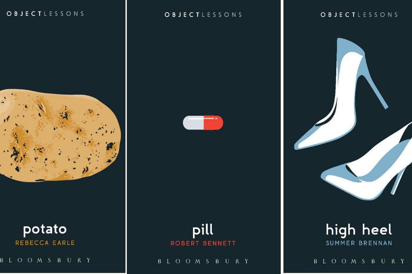 'Potato,' 'Pill,' and 'High Heel': Three delightful new books about the familiar objects in our daily lives