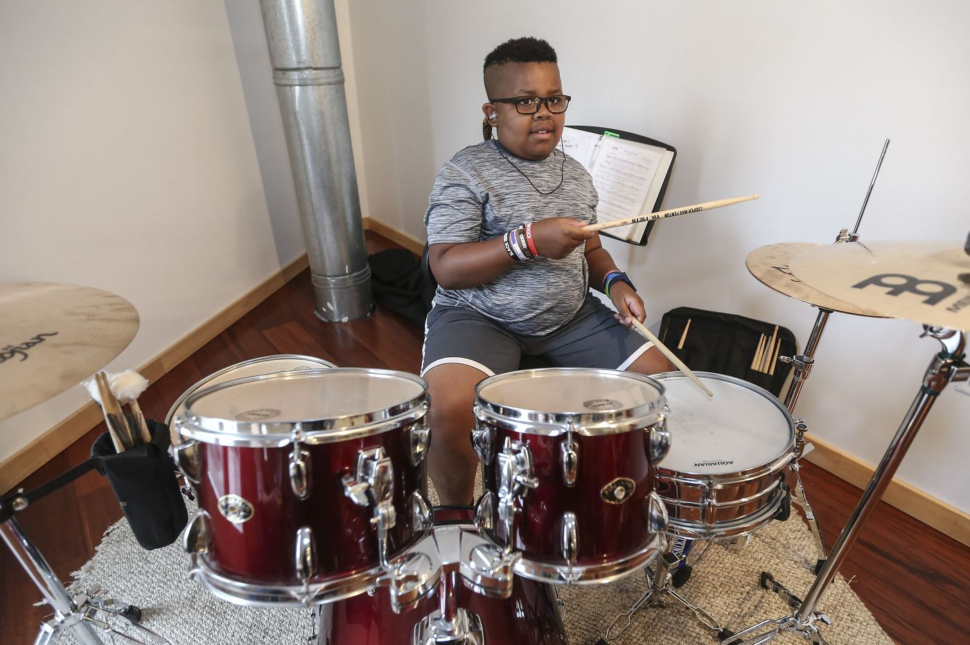 Shakespeare in Clark Park goes glam-rock this year, with a local prodigy on drums
