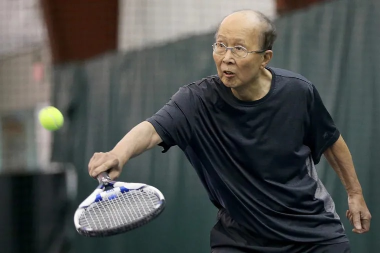 Chong-sik Lee, 86, professor emeritus of political science at the University of Pennsylvania, plays tennis weekly at the Great Valley Racquet Club in Malvern. He escaped from North Korea during the Korean War and interrogated Chinese prisoners of war for the U.S. Army before coming to America.