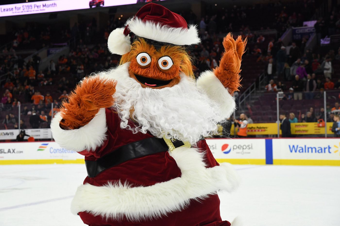 Kids can see Santa, Gritty, and part of the 'Nutcracker' together at the Kimmel Center in Dec.