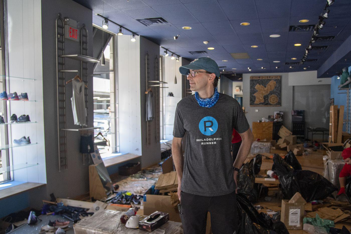 Center City retailers endure epic looting on top of coronavirus closures