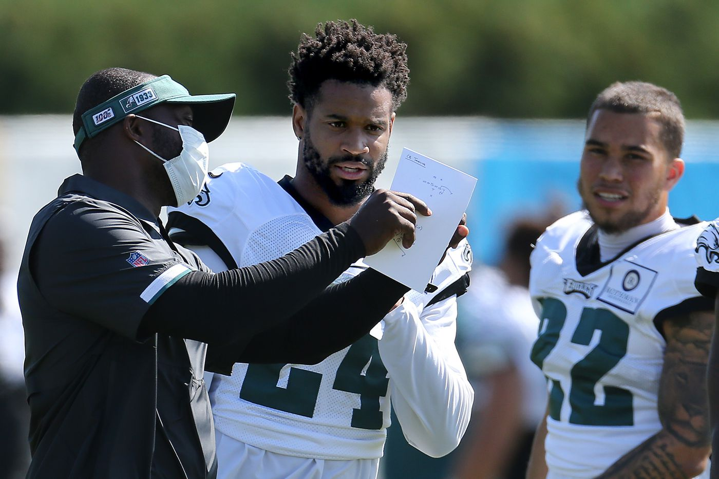 As NFL deals with coronavirus spread, Eagles corner Darius Slay says he had doubts about the season before training camp