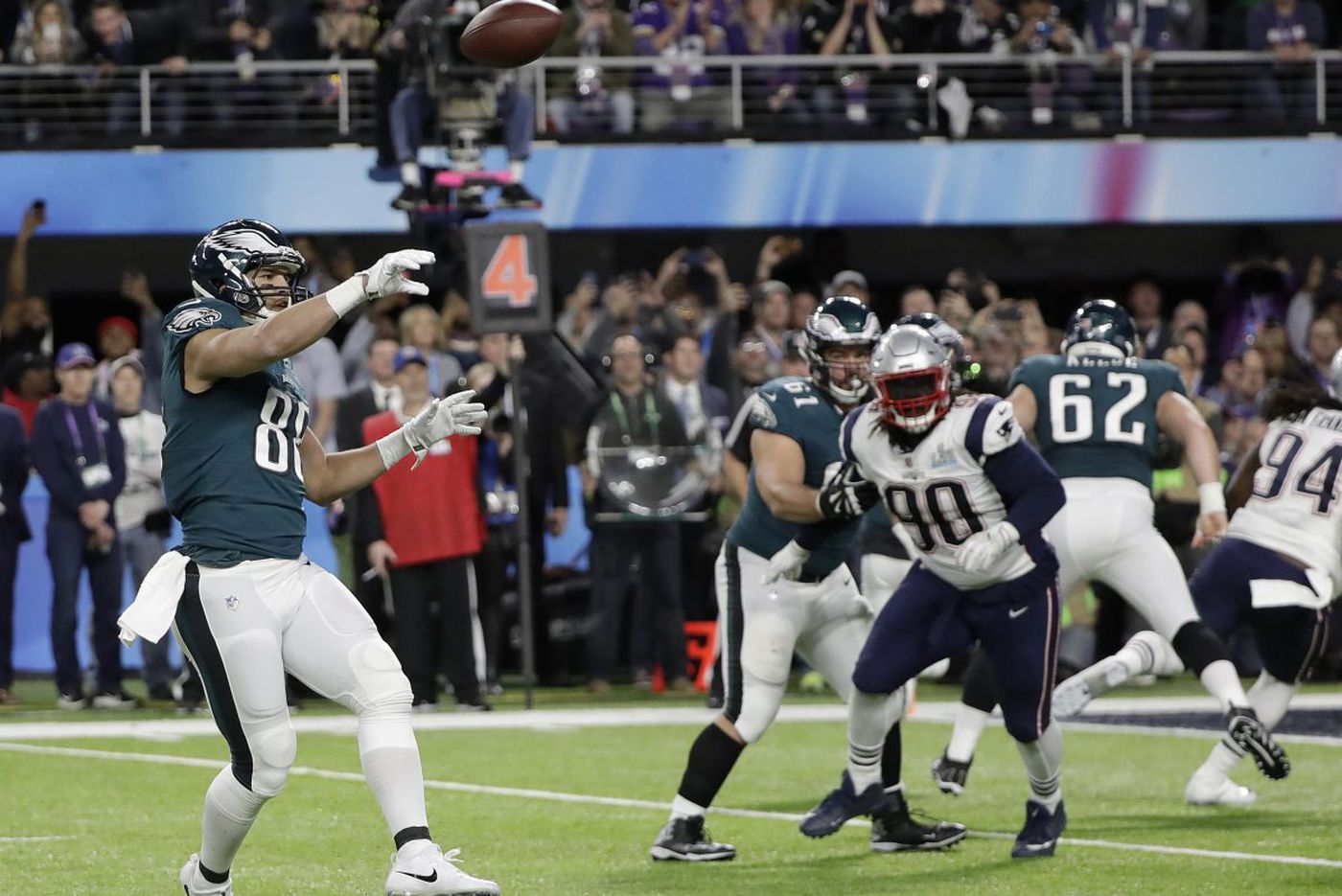 One special Super Bowl moment opens a new world for the Eagles' Trey Burton | Mike Sielski