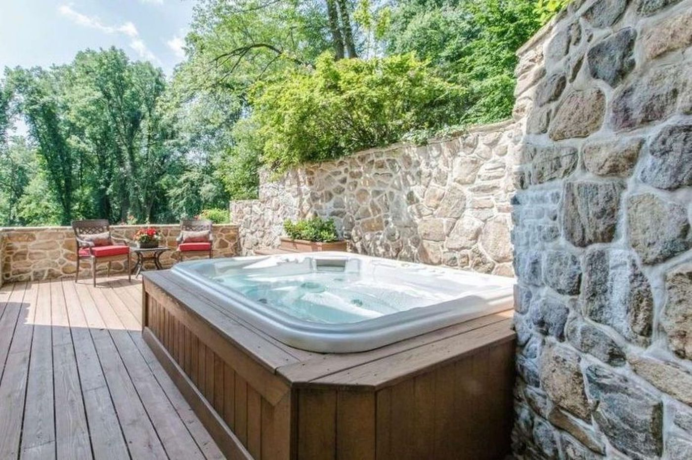 Included with these Philly suburban million-dollar homes: A hot tub