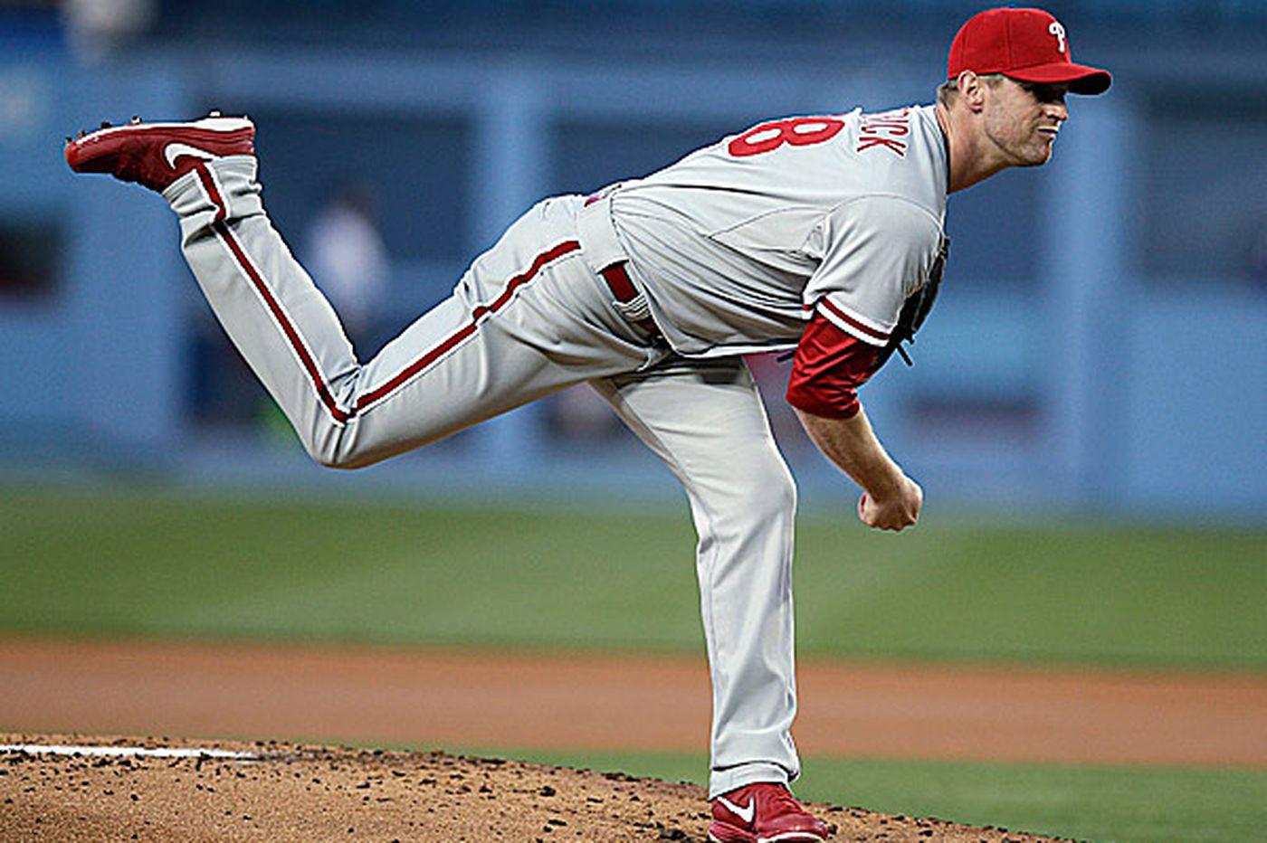 Phillies shuffle rotation after rainout