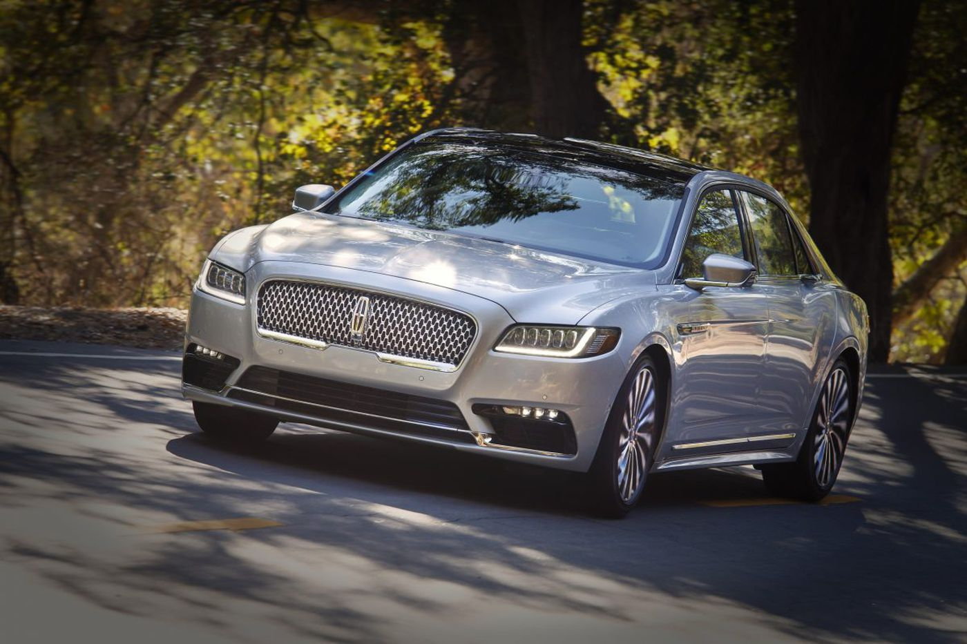 The new Lincoln Continental: roomy, comfy and sporty?