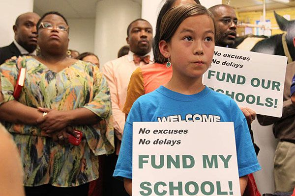 With schools on the brink, Nutter and Clarke diverge