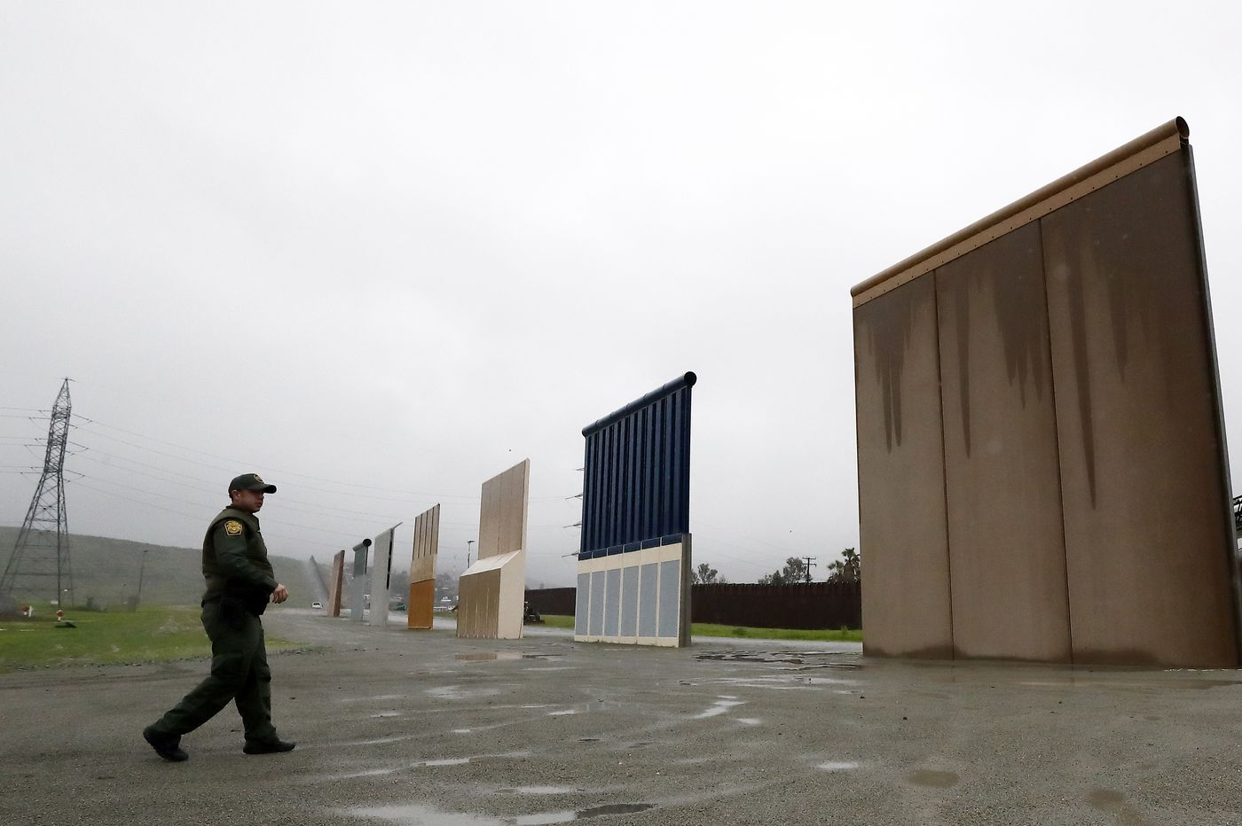US to demolish Trump's border wall prototypes in San Diego