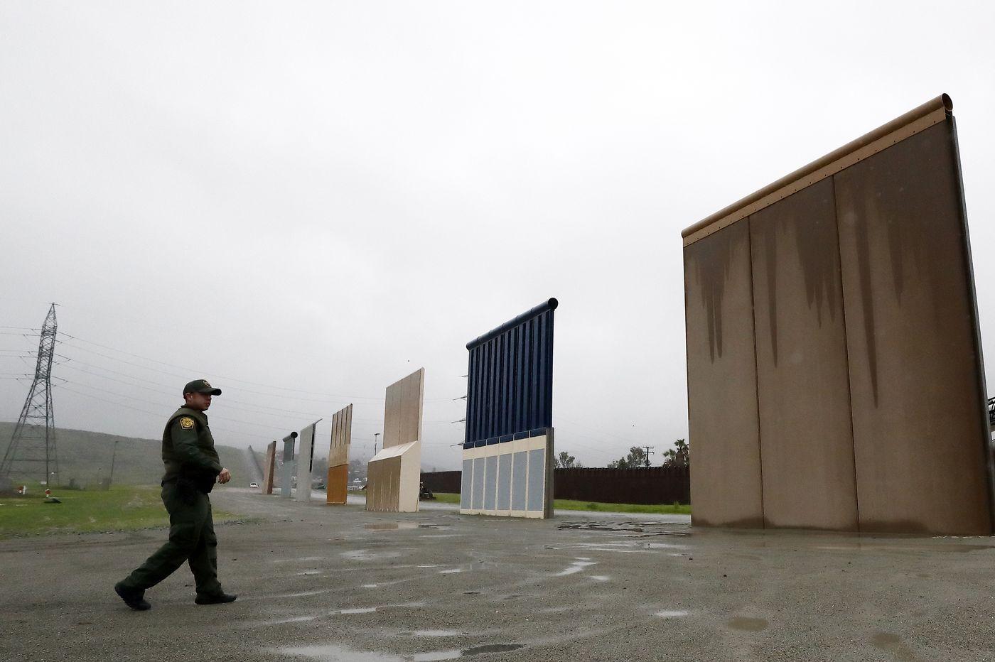 US to demolish Trump's border wall prototypes in San Diego