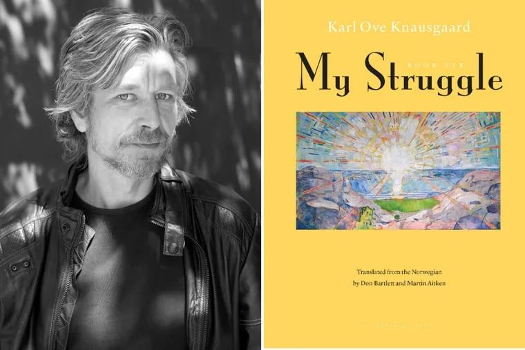 "Karl Ove Knausgaard, author of ""My Struggle: Book 6."""