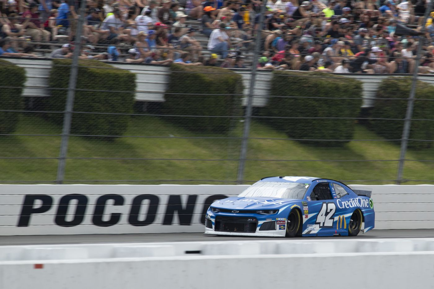 Pocono Raceway hosting first Cup Series weekend doubleheader in modern NASCAR history