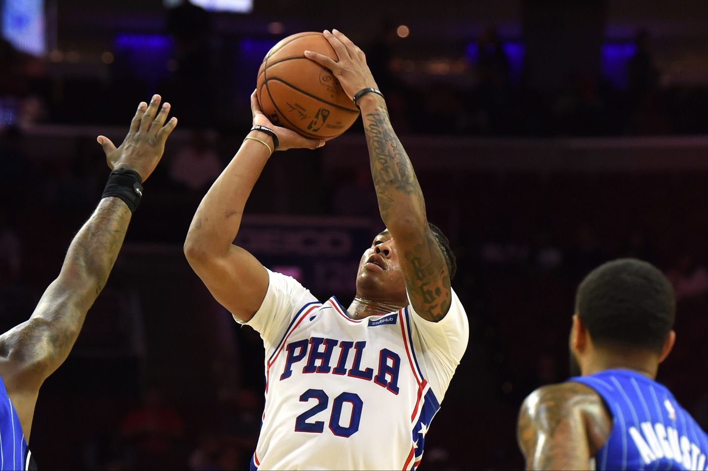 Markelle Fultz sees himself as the third star the Sixers seek