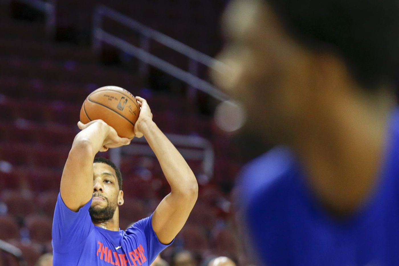 Amid trade rumors, Sixers' center Jahlil Okafor staying faithful to grind of working out
