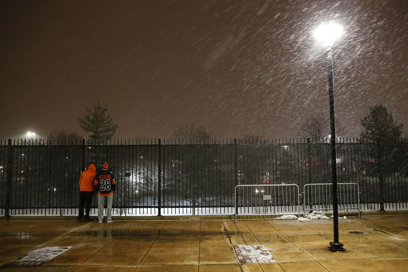 Snow, wintry mix, rain taunt Philly region: The latest on schools, travel and the weather forecast