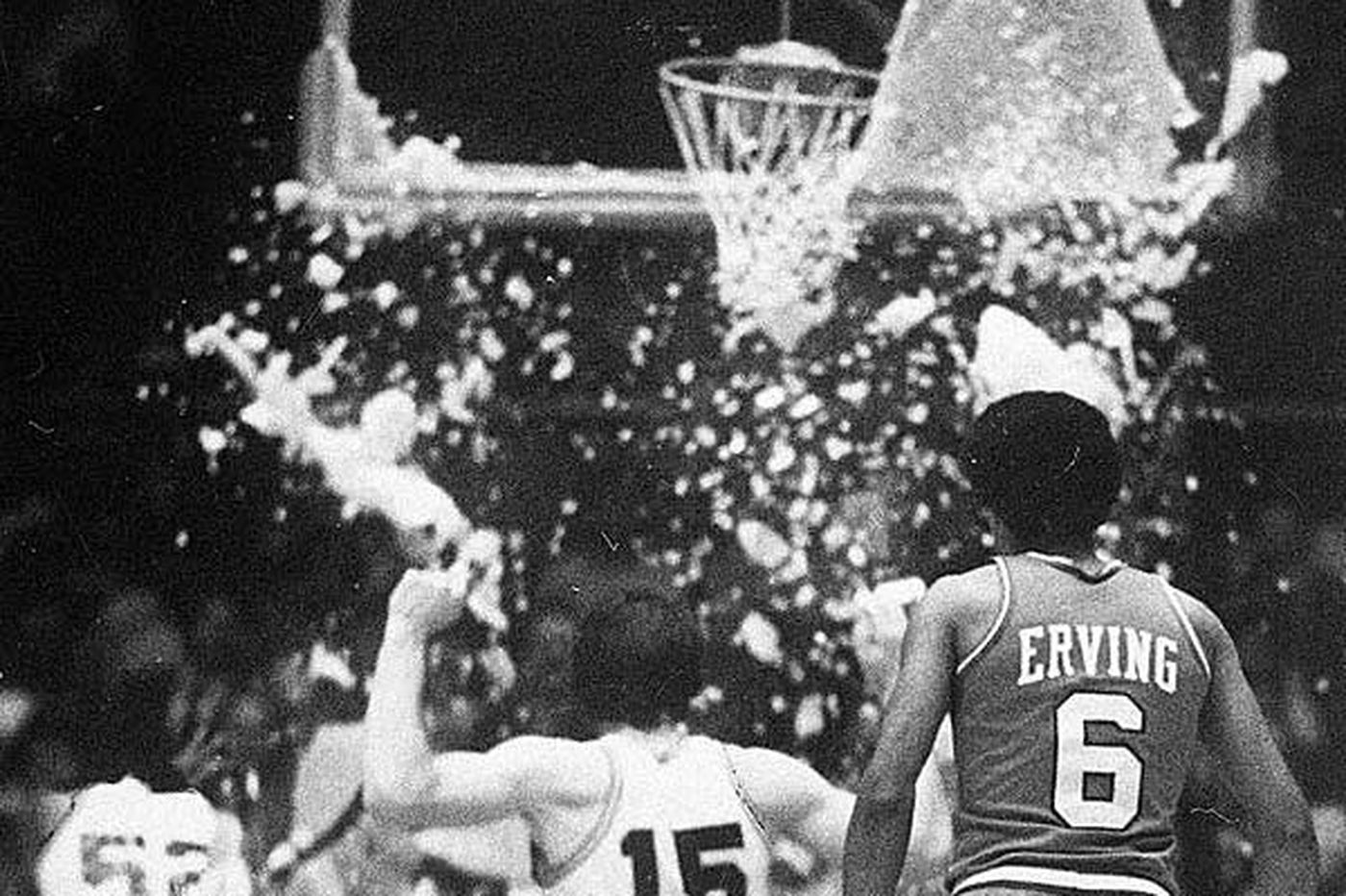 Darryl Dawkins broke new ground, and rims, with 76ers