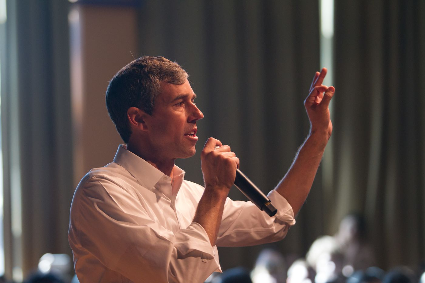At State College, Beto O'Rourke stirs excitement. But some Democrats wonder what he would do.