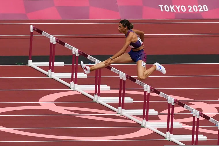 Sydney McLaughlin is one of the United States' big names in the women's 400-meter hurdles competition.