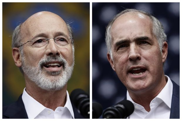 Could Gov. Wolf, Sen. Casey be V.P. picks in 2020? | Clout