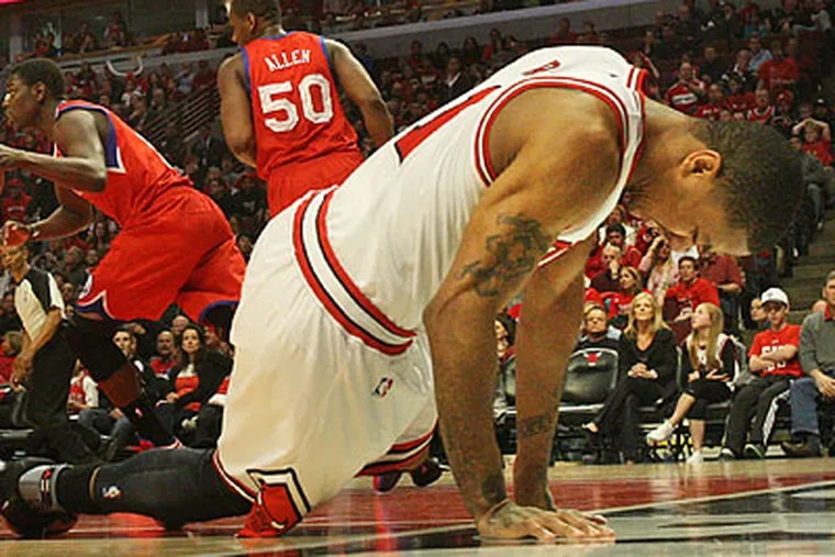 The Bulls will replace Derrick Rose, who missed 27 games in the regular season, with C.J. Watson. (Ron Cortes/Staff Photographer)