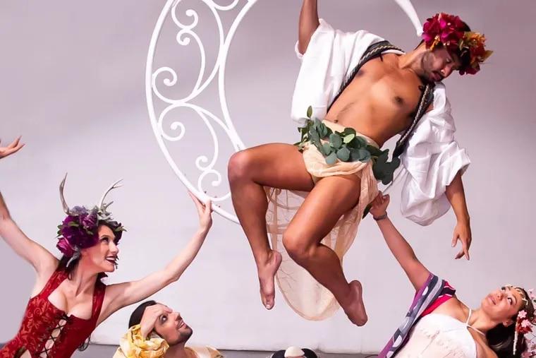 "A scene from Cirque du Nuit's ""Midsummer Gala.""  Photo credit: Rebecca Gudelunas"