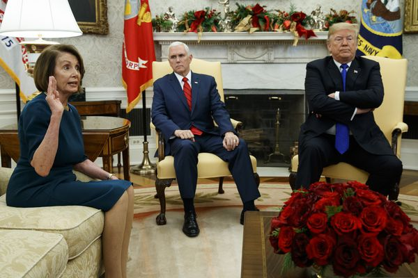 Nancy Pelosi shows her strength — and glimpse of future — in confrontation with Trump