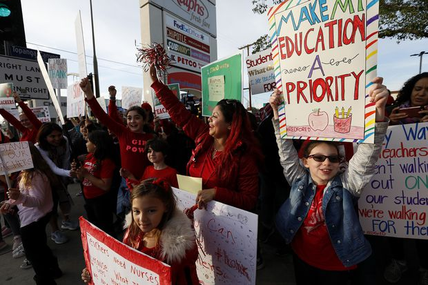 L.A. teachers on strike; what does it mean for Philly?