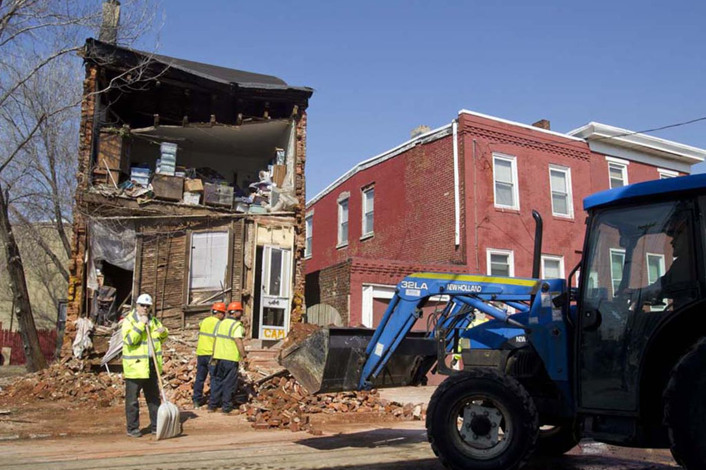 Family wonders who to blame in house collapse