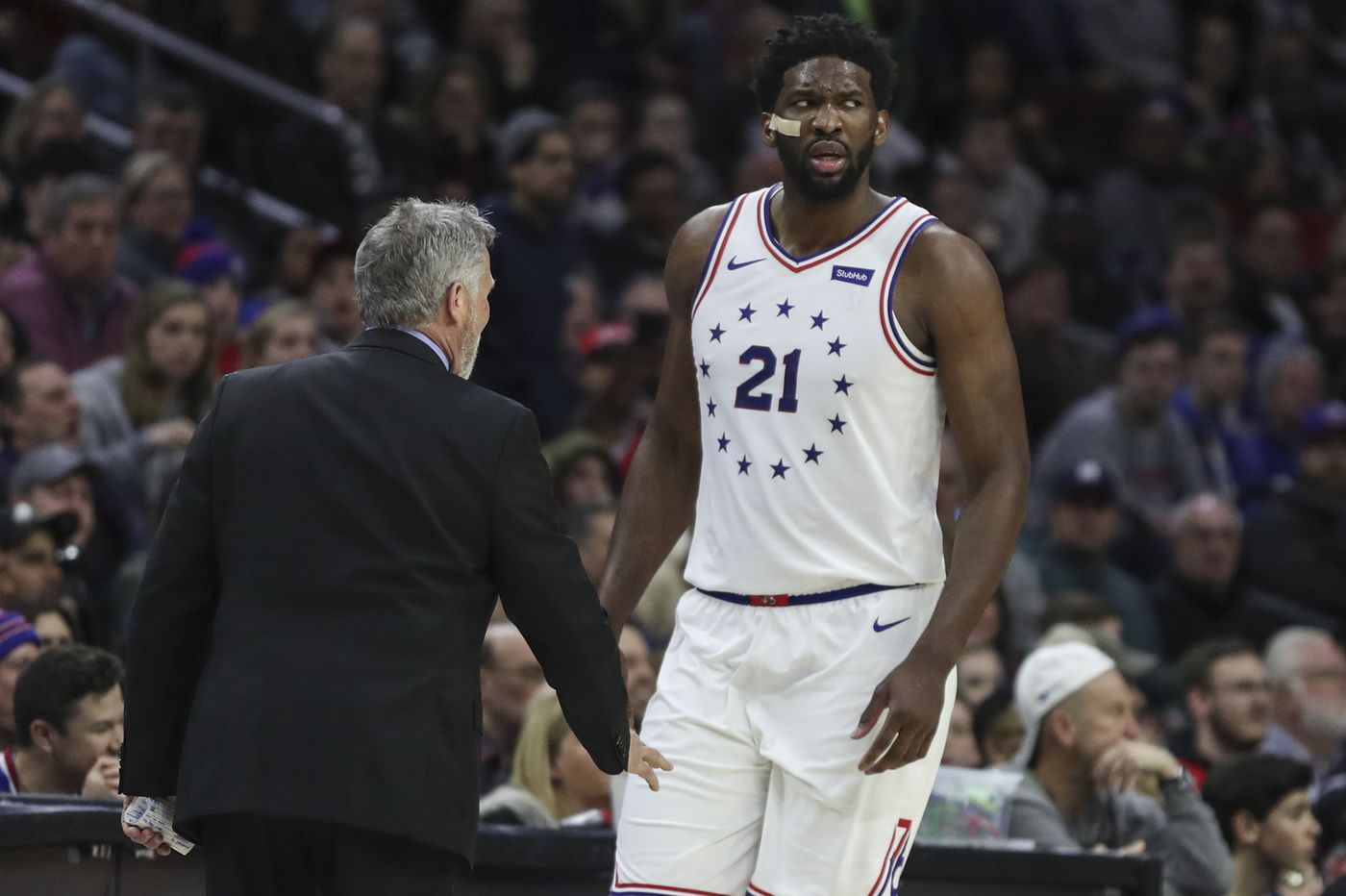 Joel Embiid notches double-double in return as Sixers beat Pacers, 106-89
