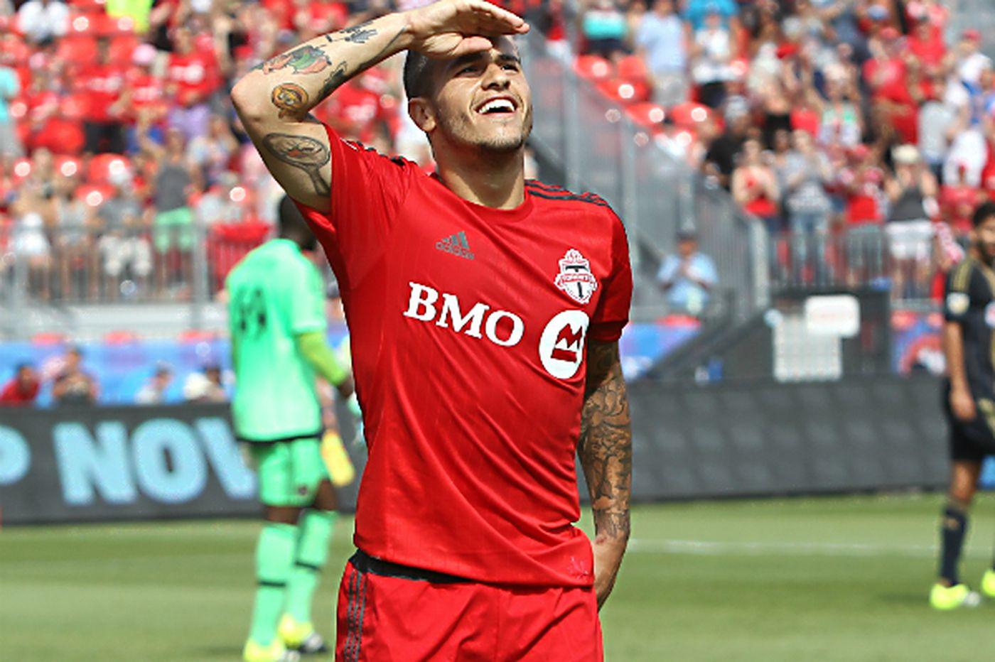 Union fall to Sebastian Giovinco and Toronto FC, 2-1
