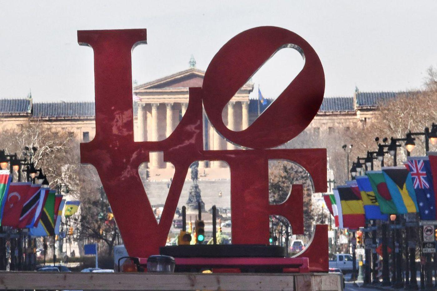 LOVE Park: Absence should make Philadelphia's heart grow fonder | Editorial