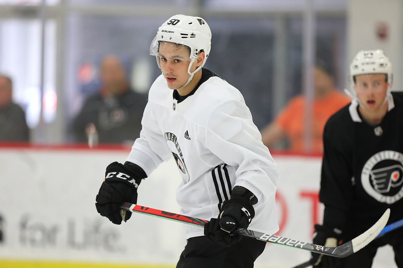 Flyers rookie winger German Rubtsov, a 2016 first-round draft pick, making case with two-way play