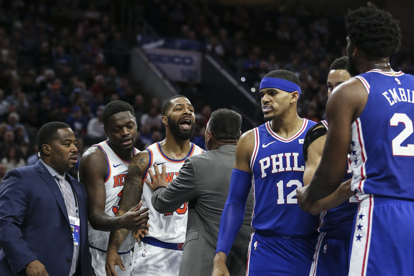 Ben Simmons hit a three, but the Sixers offense again looked lost. That, and other takeaways from an ugly win