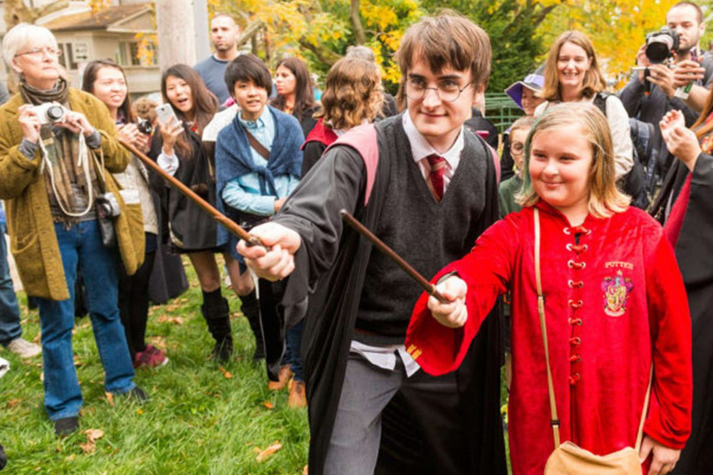 A muggles' guide to the Harry Potter Festival
