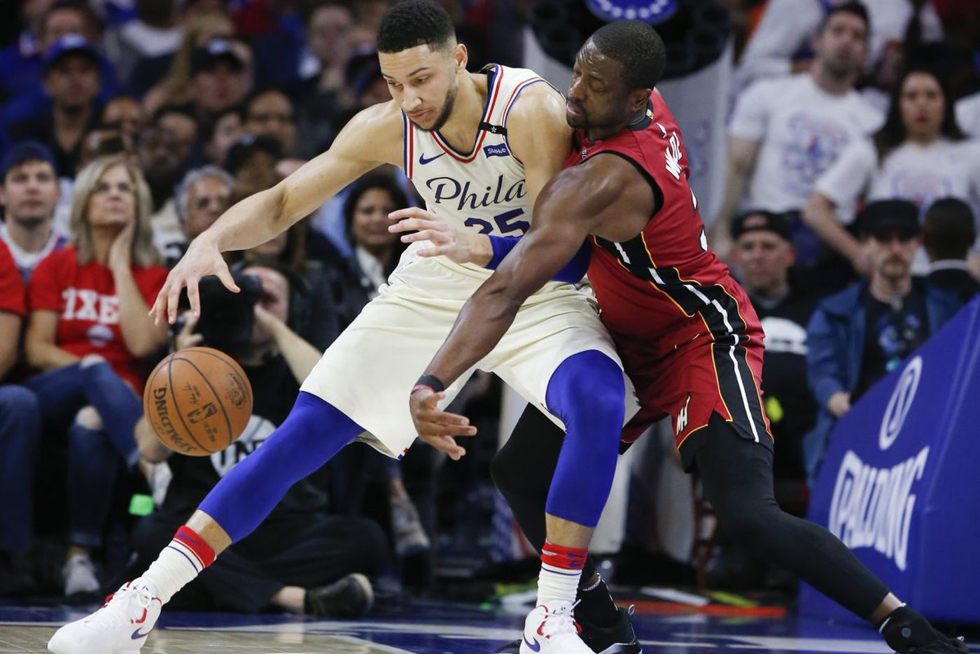 Sixers stick together in physical playoff series