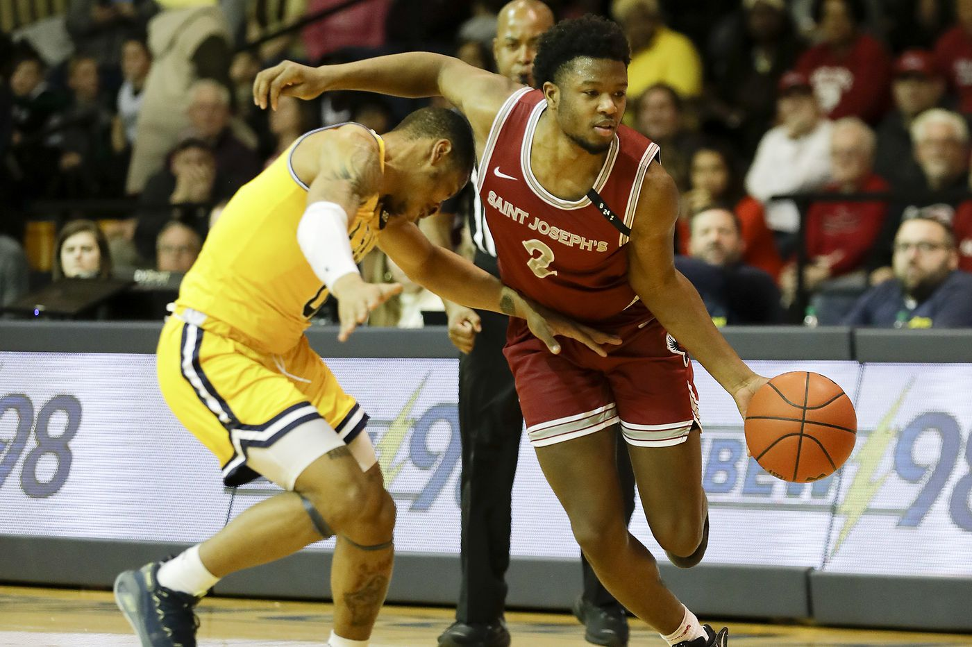 Without Ryan Daly, St. Joseph's falters in second half and falls to Rhode Island