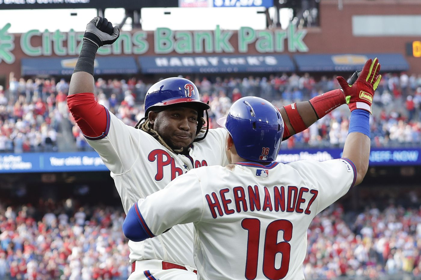 Maikel Franco flourishing in eighth spot of Phillies lineup