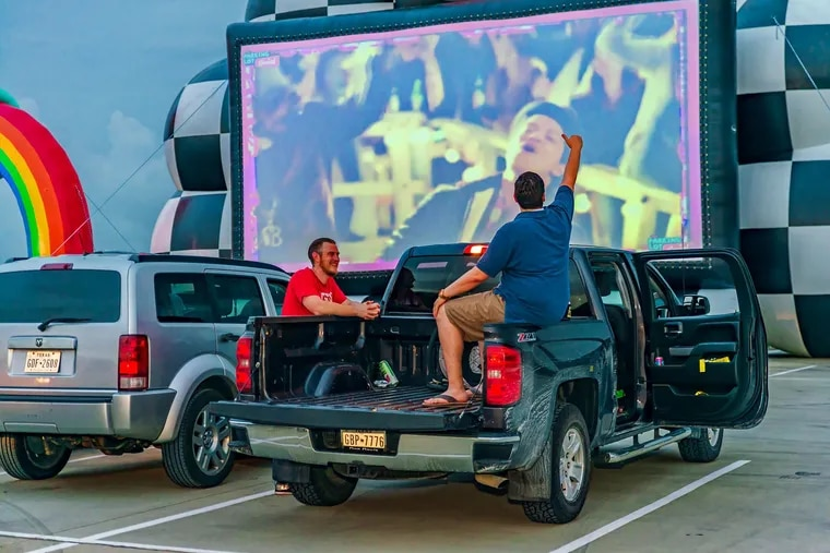 A drive-in extravaganza featuring everything from movie nights to comedy shows arrives at the Navy Yard for multiple days of socially distant fun.