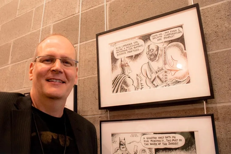 Award-winning political cartoonist Rob Rogers is on vacation after the Pittsburgh Post-Gazette began killing his cartoons critical of President Trump.