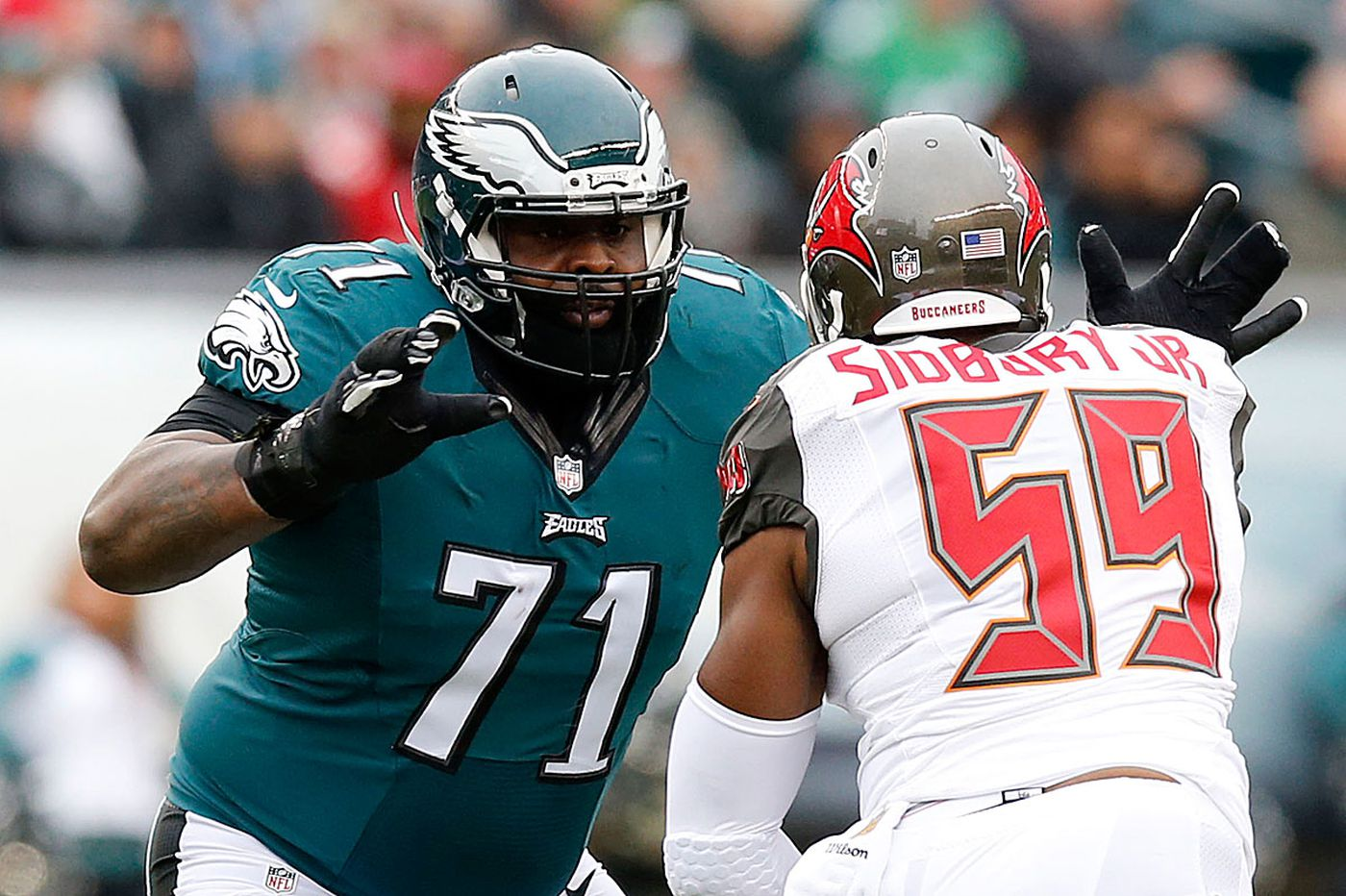 sports shoes 6ed5d 0598c Eagles tackle Jason Peters has something to prove