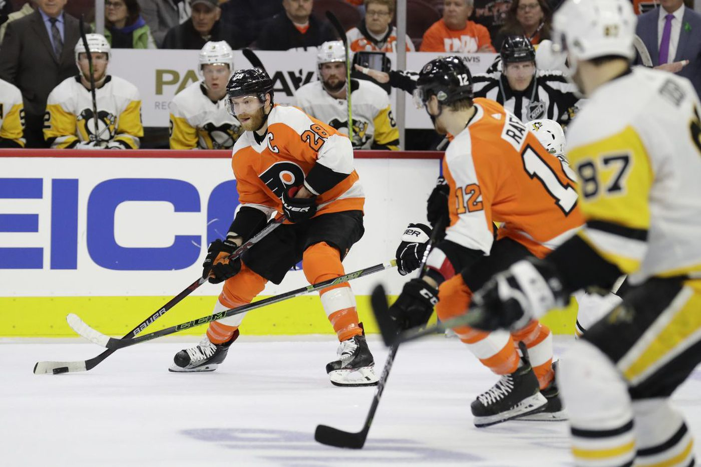 Flyers trying to conquer home-ice 'disadvantage' in Game 4 vs. Penguins