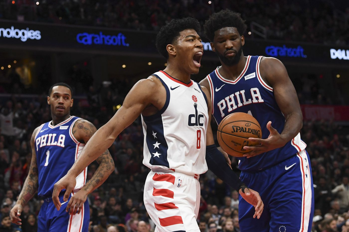 Sixers didn't take Wizards seriously until it was too late in Thursday's loss in Washington