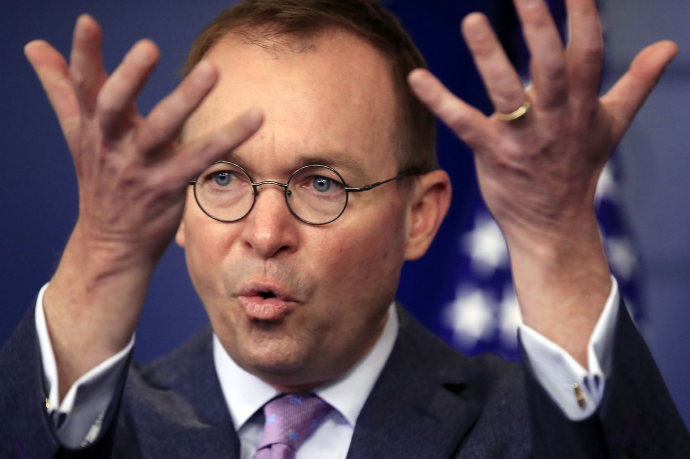 Trump picks Mulvaney to be next chief of staff