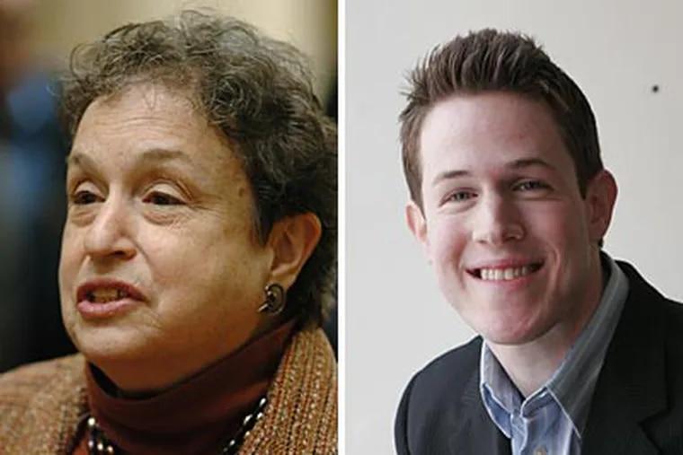 "State Rep. Babette Josephs on Gregg Kravitz: ""This guy's a gem."" Kravitz on Josephs: ""That kind of taunting is ... damaging."""